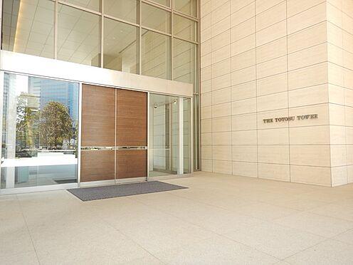 中古マンション-江東区豊洲3丁目 人の行き来を見守ってくれる、グランドエントランス