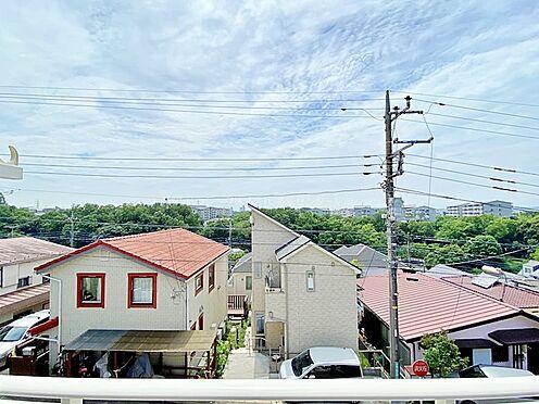 戸建賃貸-多摩市聖ヶ丘3丁目 2階バルコニーからの眺望です。