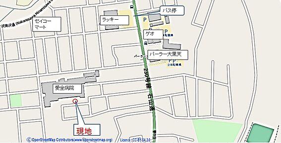 アパート-札幌市南区川沿十三条2丁目 地図