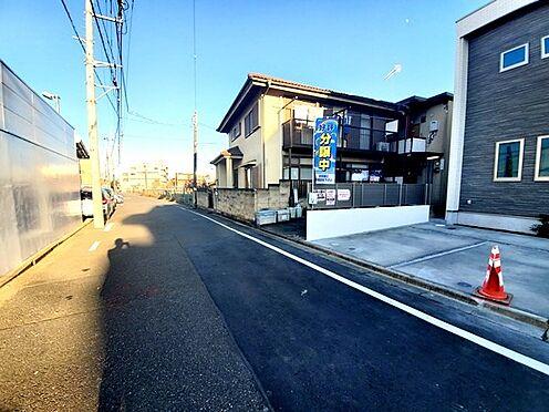 新築一戸建て-八王子市堀之内2丁目 前面道路は幅員6m、野猿街道より1本内側で交通量少なめです。野猿街道スターバックスの裏手あたりです。