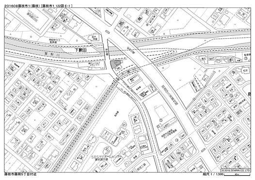 店舗付住宅(建物全部)-藤枝市時ケ谷 地図
