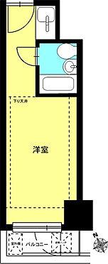 マンション(建物一部)-新宿区歌舞伎町2丁目 南向きのワンルームです。