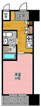 マンション(建物一部)-大阪市西区新町1丁目 間取り