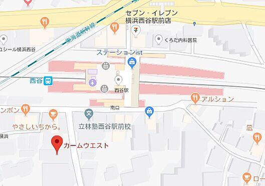 マンション(建物全部)-横浜市保土ケ谷区西谷町 地図