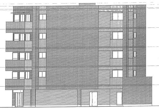 マンション(建物全部)-足立区綾瀬1丁目 マンション側面の立面図です。