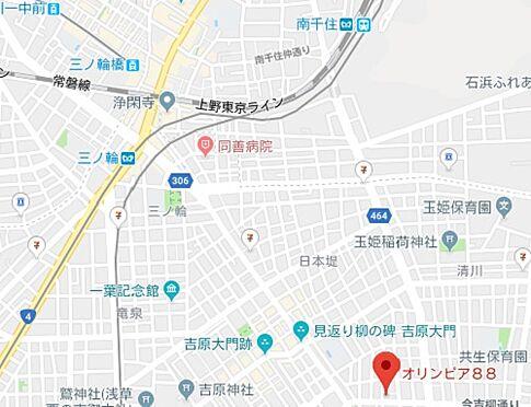区分マンション-台東区東浅草2丁目 地図