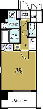 マンション(建物一部)-大阪市港区弁天5丁目 入居者人気の高い間取りが魅力
