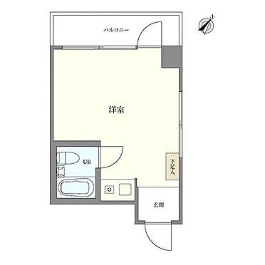 マンション(建物一部)-千代田区飯田橋1丁目 間取り図