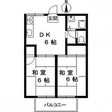 アパート-神戸市西区富士見が丘4丁目 間取り