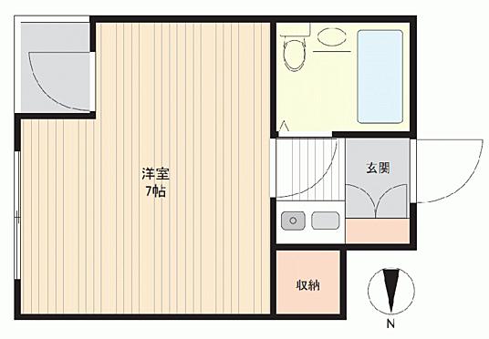 マンション(建物一部)-浜松市中区元目町 間取り