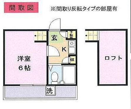 アパート-坂戸市柳町 間取り