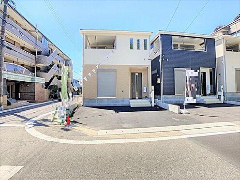 新築一戸建て-名古屋市天白区保呂町 優しい配色の外観♪