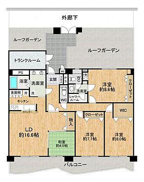 区分マンション-豊田市下市場町8丁目 125.84平米の広々4LDK!
