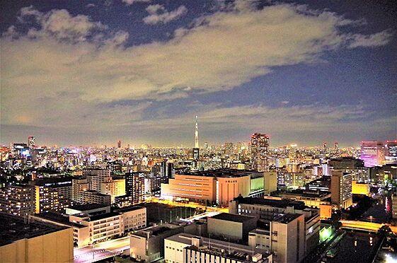 中古マンション-江東区豊洲3丁目 バルコニーからの眺望。東京スカイつりいー方面を望む