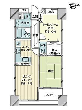 中古マンション-練馬区練馬1丁目 間取り