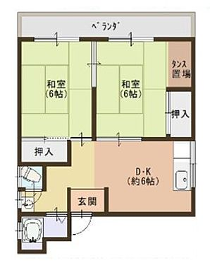 アパート-和歌山市畑屋敷西ノ丁 間取り