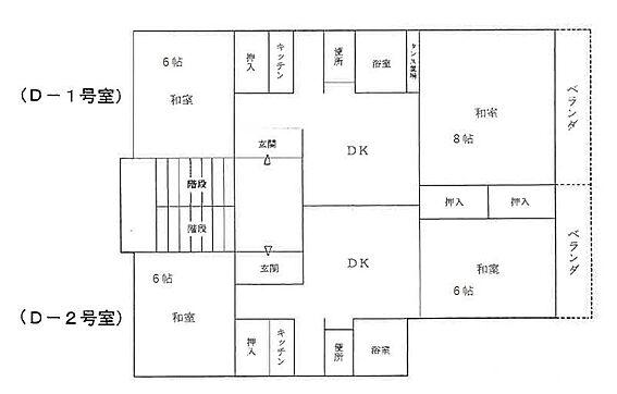 マンション(建物全部)-静岡市清水区日立町 間取り