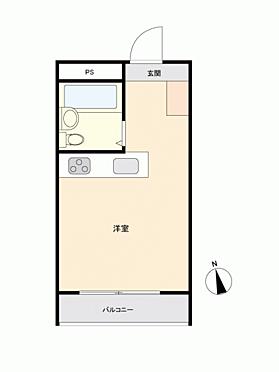 マンション(建物一部)-水戸市城南3丁目 間取り