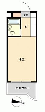 区分マンション-名古屋市東区東大曽根町 間取り