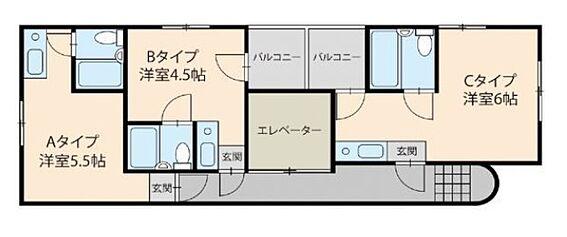 一棟マンション-大阪市東住吉区駒川4丁目 間取り