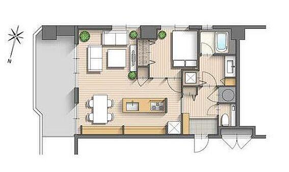 マンション(建物一部)-福岡市早良区西新1丁目 2020年10月内装フルリノベーション済み。