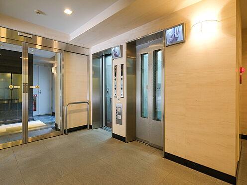 中古マンション-新宿区百人町4丁目 ダブルロックエレベーターホール