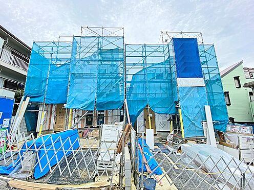 新築一戸建て-日野市三沢5丁目 一生懸命建築中です
