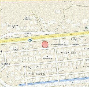 店舗(建物全部)-伊勢原市大住台1丁目 地図