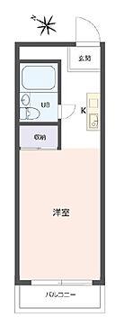 マンション(建物一部)-神戸市灘区岩屋中町2丁目 シンプルな単身者向けプラン