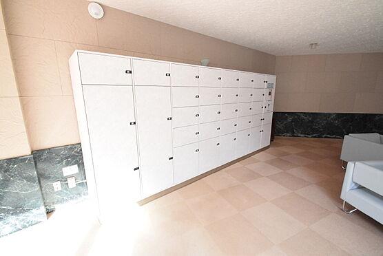区分マンション-千葉市稲毛区園生町 24時間荷物の受取が可能なマンション内宅配ボックス