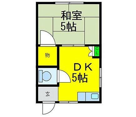 マンション(建物全部)-大阪市西成区長橋3丁目 間取り