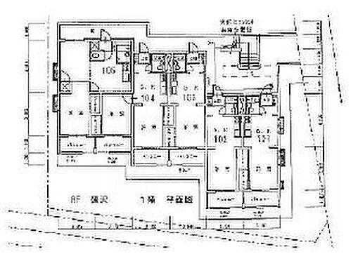 マンション(建物全部)-世田谷区千歳台5丁目 間取り