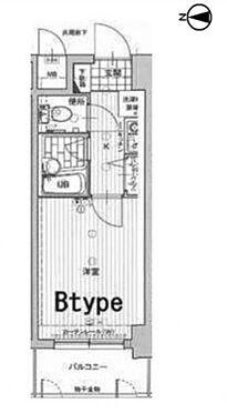 区分マンション-神戸市中央区生田町1丁目 間取り