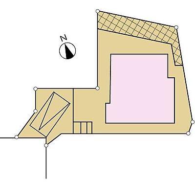 戸建賃貸-町田市小山町 区画図