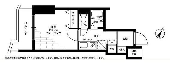 マンション(建物一部)-世田谷区上馬2丁目 平成11年築・BT別・専有面積21平米