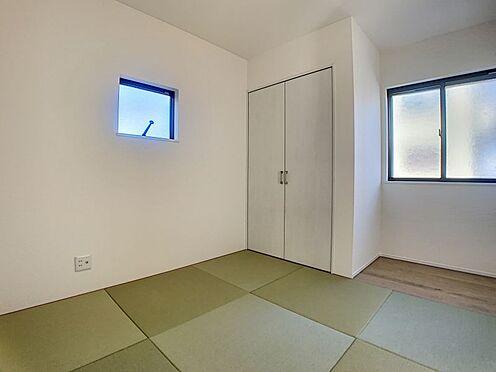 戸建賃貸-豊田市永覚新町1丁目 あるとうれしい和室。