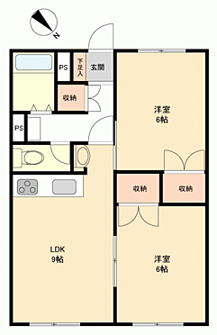 マンション(建物一部)-札幌市西区八軒5丁目 間取り