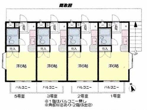 アパート-富士見市針ケ谷1丁目 間取り図