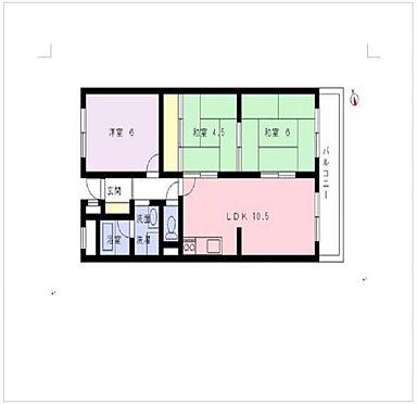 マンション(建物一部)-奈良市帝塚山6丁目 間取り