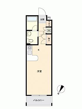 マンション(建物一部)-福岡市中央区六本松3丁目 間取り