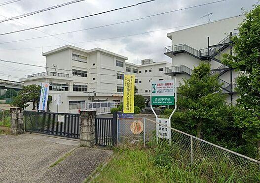 土地-清須市清洲 清洲中学校 1100m 徒歩約14分