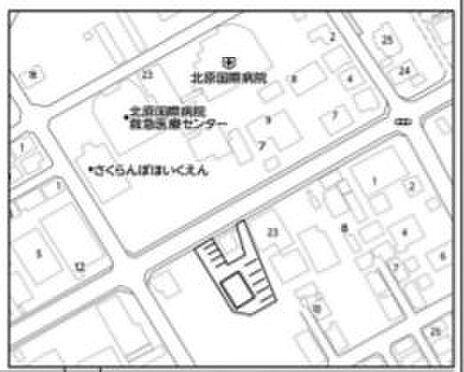 ビル(建物全部)-八王子市大和田町1丁目 地図