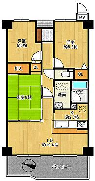 マンション(建物全部)-泉南市新家 間取り