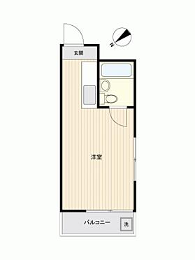 区分マンション-世田谷区用賀4丁目 間取り