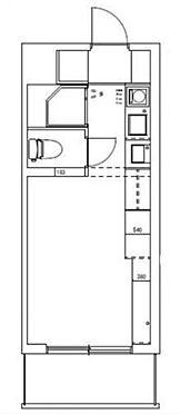 マンション(建物一部)-京都市上京区革堂町 水まわりがまとまった間取り
