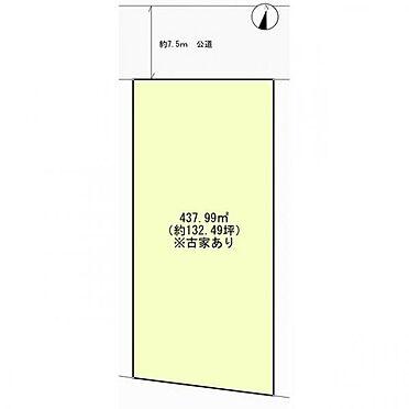 土地-三郷市彦成5丁目 区画図