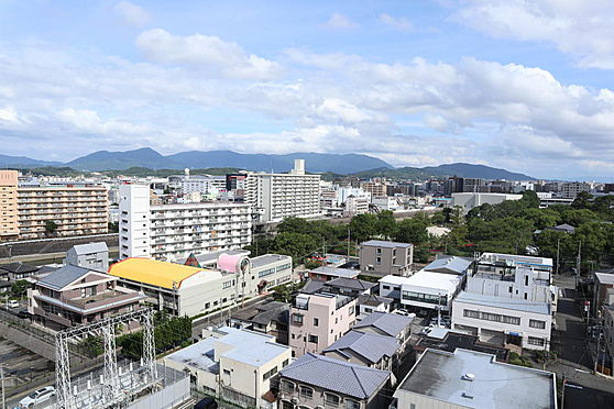 区分マンション-福岡市博多区比恵町 バルコニー眺望