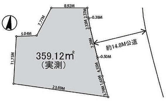 アパート-富士見市鶴瀬東1丁目 区割り図