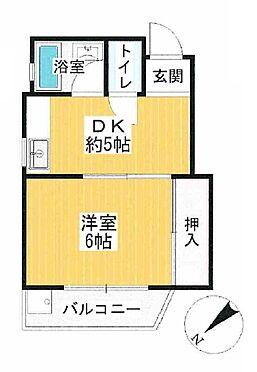 マンション(建物一部)-大阪市淀川区新北野1丁目 バストイレが分かれた単身者に人気の間取り