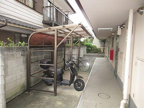 マンション(建物全部)-市川市大野町3丁目 自転車・バイク置き場です。他に駐車場2台分有